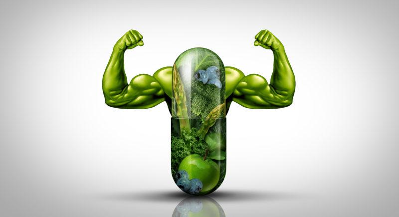 natürliche Nahrungsergänzungsmittel